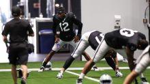 Zay Jones trying to crack Raiders' deep receiver rotation