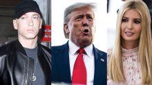 Eminem was visited by Secret Service agents over lyrics about POTUS, Ivanka Trump