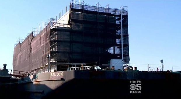 Google's so-called mystery barge must relocate in light of permit blunder (updated)