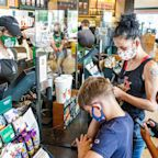 People are spending more money at Starbucks than ever before by ordering complicated drinks, cold beverages, and food