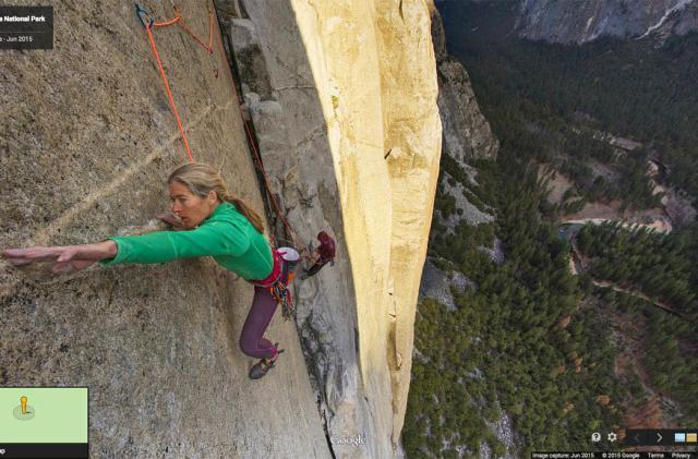 Climb 'El Capitan' with Google's first vertical Street View