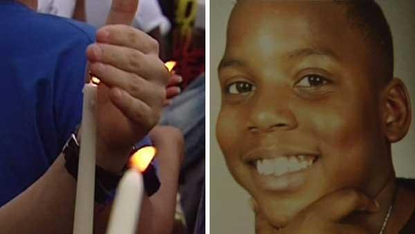 Teen shot, killed in car remembered at vigil