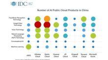 Baidu Tops China's AI Public Cloud Services Market, According to IDC Report