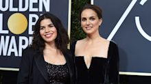 Golden Globes 2018: Natalie Portman übt gekonnt Kritik