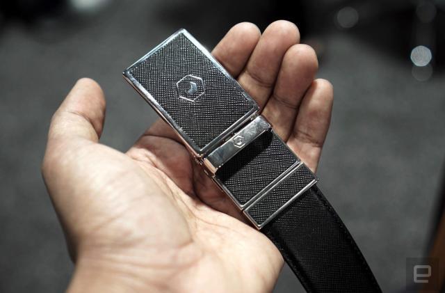 Samsung's smart belt lands on Kickstarter