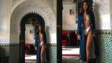 Emily Ratajkowski shares revealing photo from Morocco