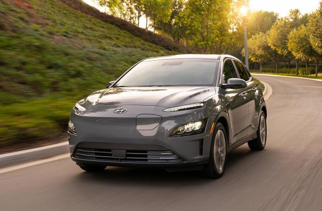 Hyundai's 2022 Kona Electric features a simpler, smoother design