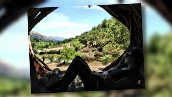 Lea Michele Takes Some Time Out in a Thoughtful Mountain Snap