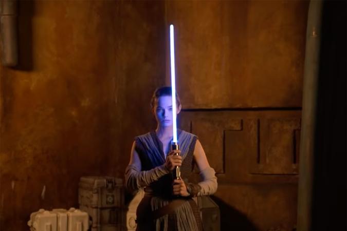 Disney's retractable lightsaber for Star Wars: Galactic Starcruiser