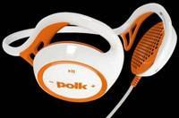 Polk enters the headphone game with sporty, generic ear-speakers
