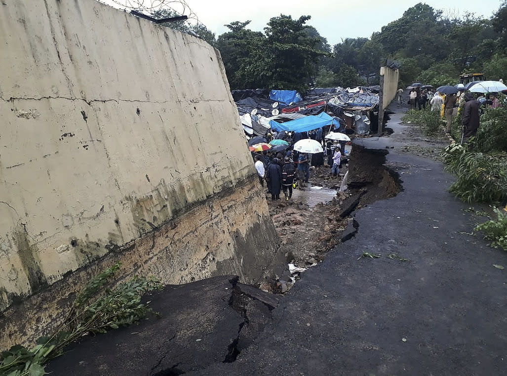 IMG INDIA Wall Collapse
