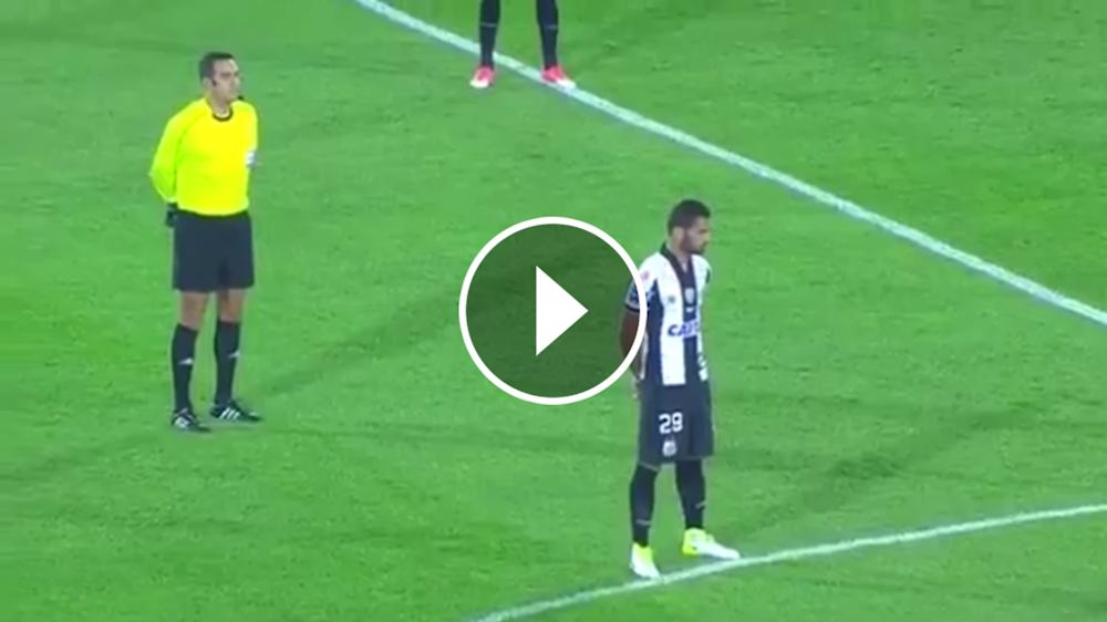 VIDEO: ¡Insólito! En Santa Fe-Santos dieron por muerto a un jugador visitante