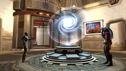 SWTOR turning three, giving away anniversary decor