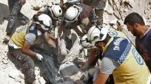 Russia condemned for calling Syrian White Helmets a 'threat'