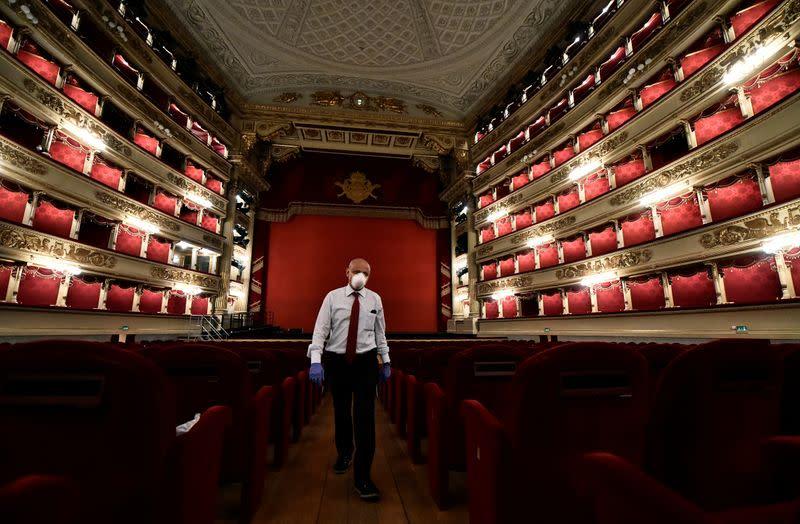 Coronavirus sweeps through Milan's La Scala opera house