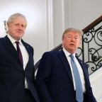 Donald Trump backs Boris Johnson as 'right man' to deliver Brexit who 'needs no advice'