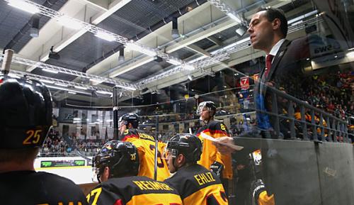 Eishockey: Nationalmannschaft verliert auch zweiten WM-Test in Norwegen