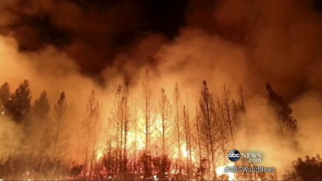 Natural Treasure Threatened by Growing Fires