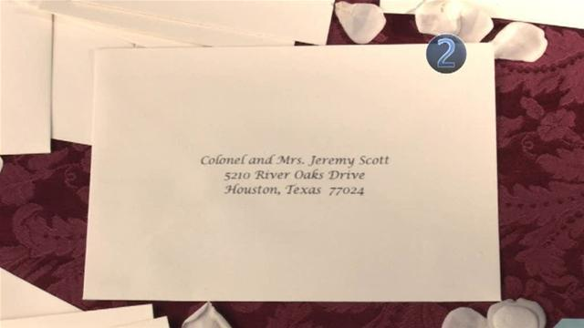 How To Send Wedding Invitation To A Male Military Officer