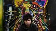 Portuguese artist turns trash into animal sculptures