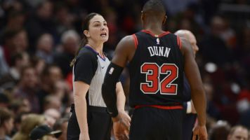 Holtkamp-Sterling is first mother to ref in NBA
