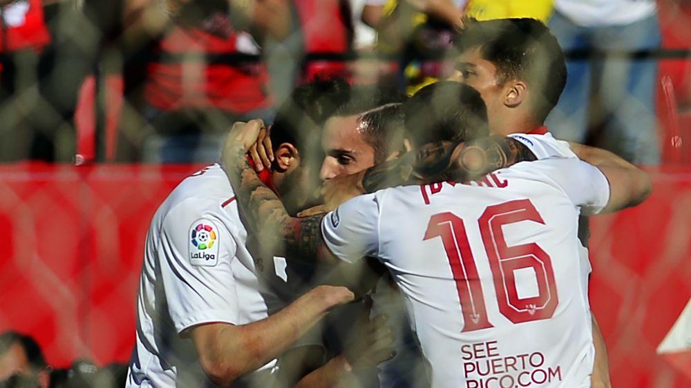 Séville-Deportivo la Corogne (4-2), Séville revient sur l'Atlético Madrid