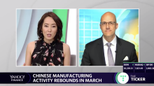 Chinese manufacturing activity rebounds in March