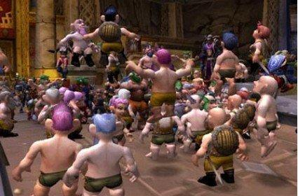 'Beat World of Warcraft' a game developer resolution for 2009