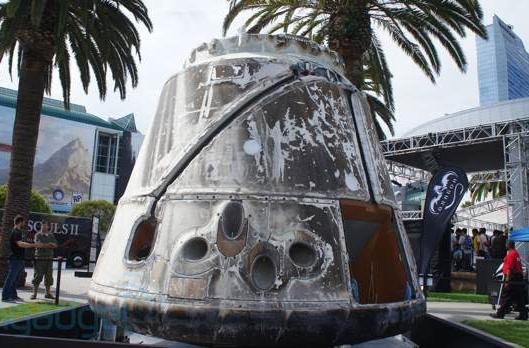 Visualized: SpaceX Dragon capsule at E3
