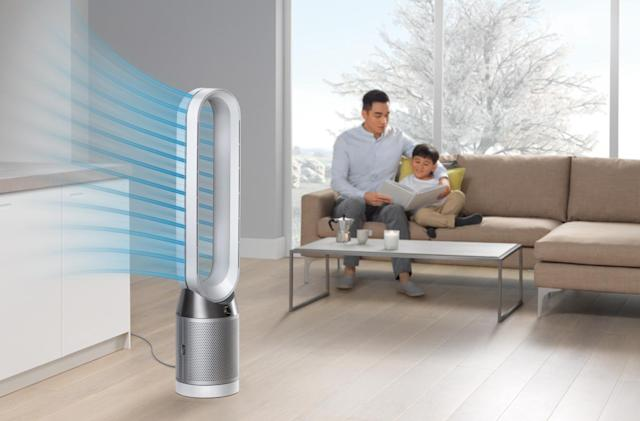 Dyson's latest fans can purify air without blowing at you