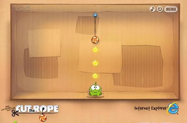 Cut the Rope gets ported to HTML5, gets chronicled on the way