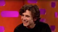 Call Me by Your Name star makes rap debut on Graham Norton Show