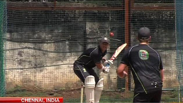 Fit and firing for first Test