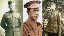3 First World War soldiers identified as Canadians