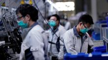 China factory gate deflation deepens as coronavirus paralyses global economy