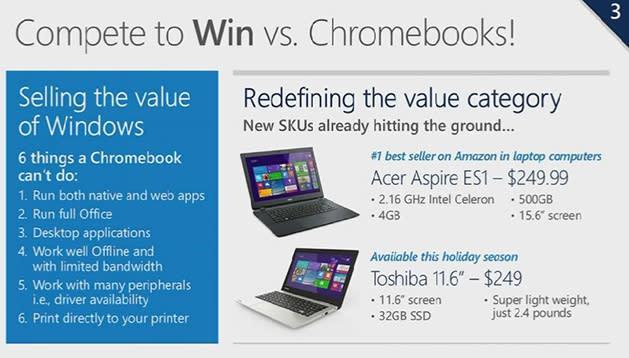 Microsoft está preparando nuevos dispositivos Windows ultraeconómicos