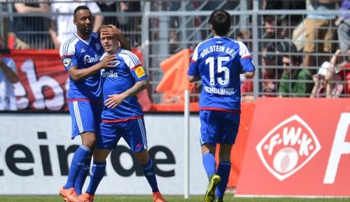 3. Liga: Kiel nutzt im Aufstiegsrennen Patzer der Konkurrenz