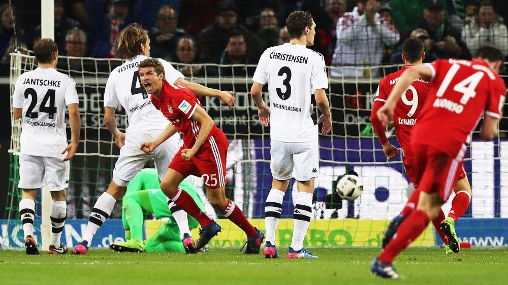 Borussia Monchengladbach-Bayern 0-1: I Bavaresi corrono verso il titolo