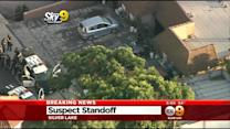 Man Remains Barricaded Inside Home In Silver Lake