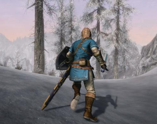 Elder Scrolls V Skyrim Link armor