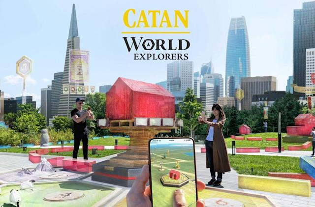 'Catan' AR game could ride on Niantic's tech