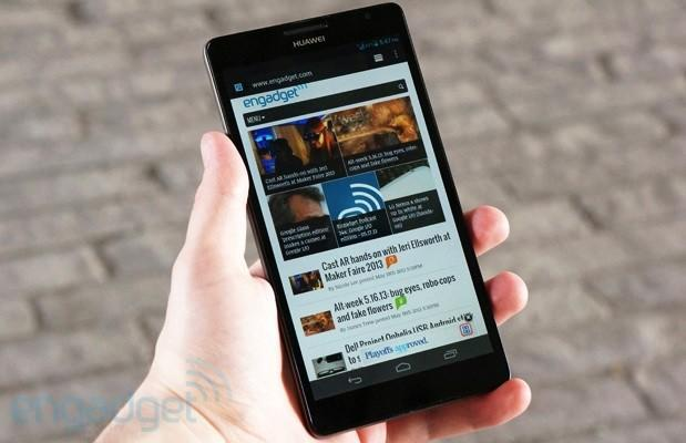 Huawei Ascend Mate to reach Vodafone UK in July