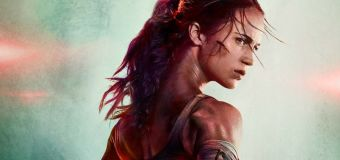First poster and footage for Tomb Raider reboot