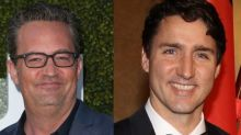 Matthew Perry beat up Canadian prime minister Justin Trudeau in school