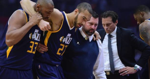 Basket - NBA - Rudy Gobert ne jouera pas le 2e match de plays-offs