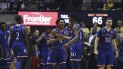 Kansas pulls off unlikely comeback at W. Virginia