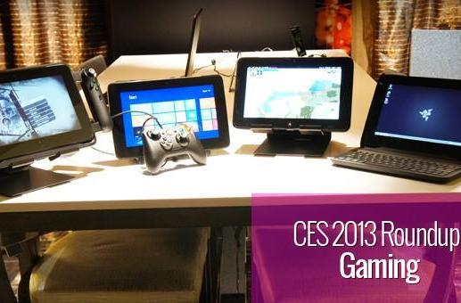 CES 2013: Gaming roundup