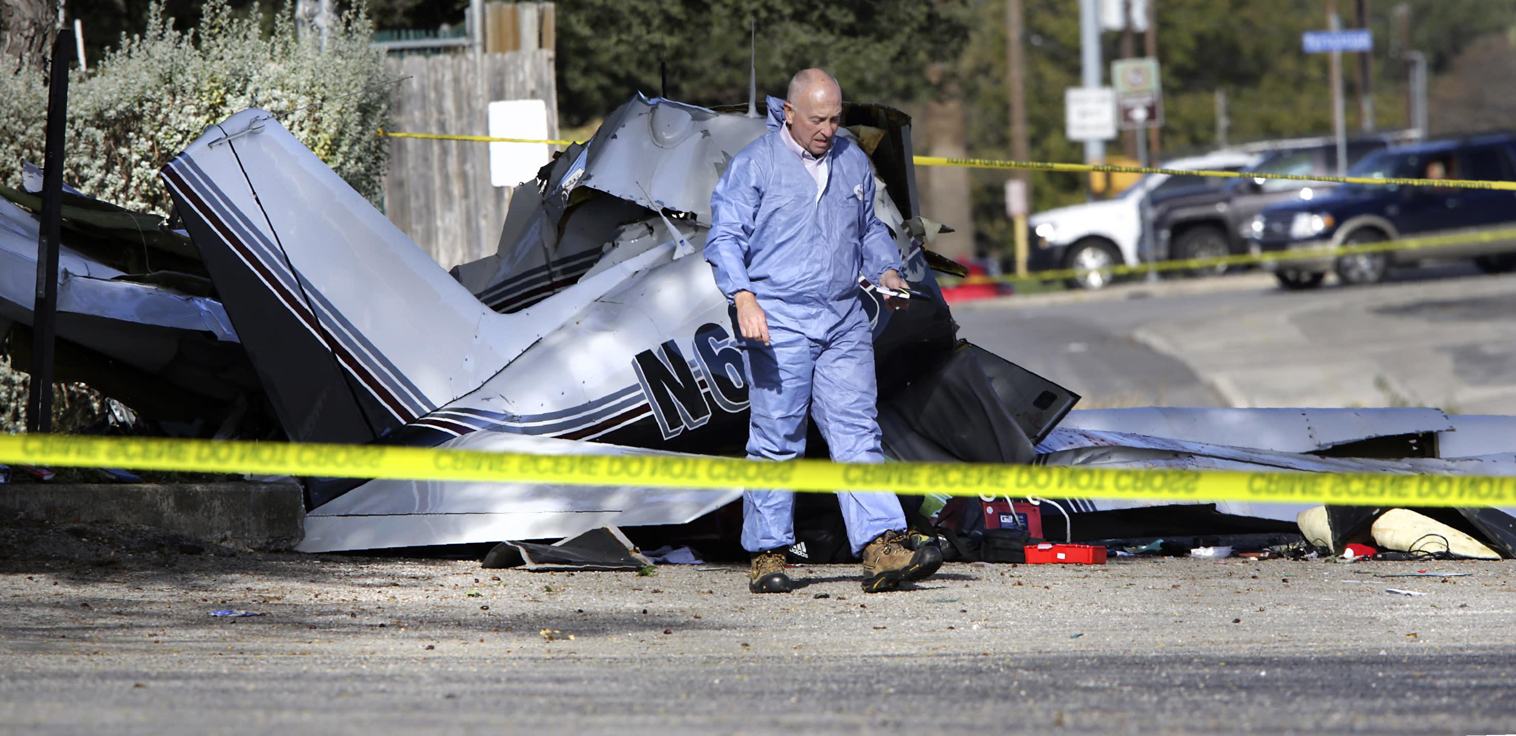 Plane Crash-San Antonio