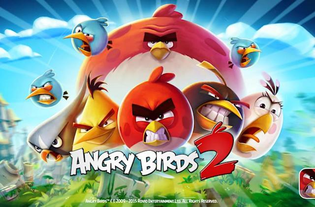 The thirteenth 'Angry Birds' game is 'Angry Birds 2'