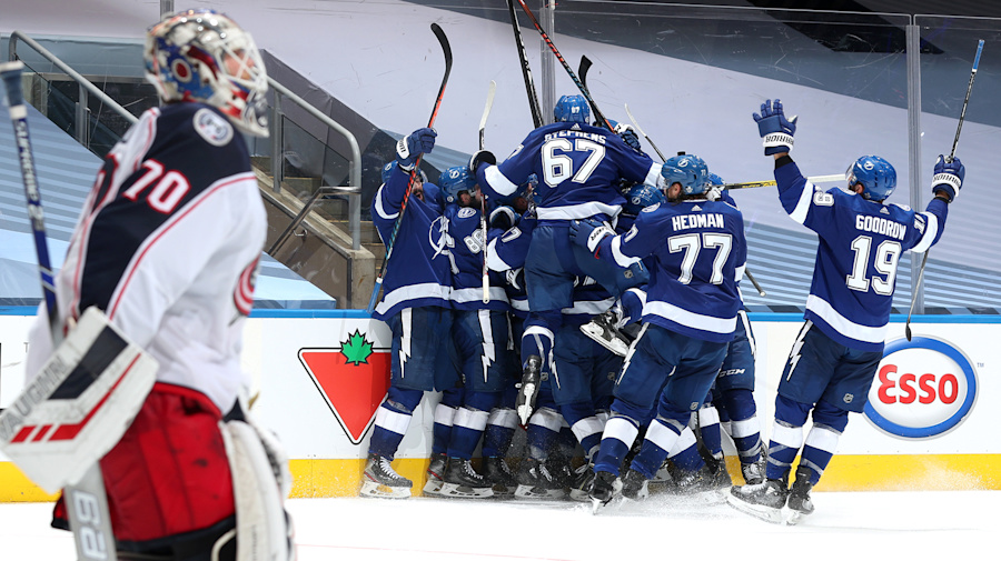 High-five: Lightning 5-OT victory just feels bigger